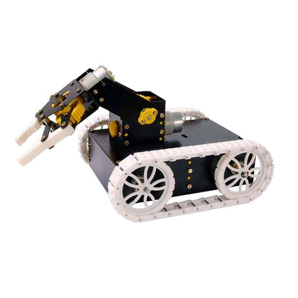 Robotic tank chassis kit suitable for DIY hobbyists