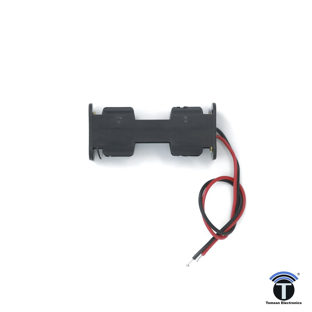 AA 2 Cell Battery Holder  Closed Type