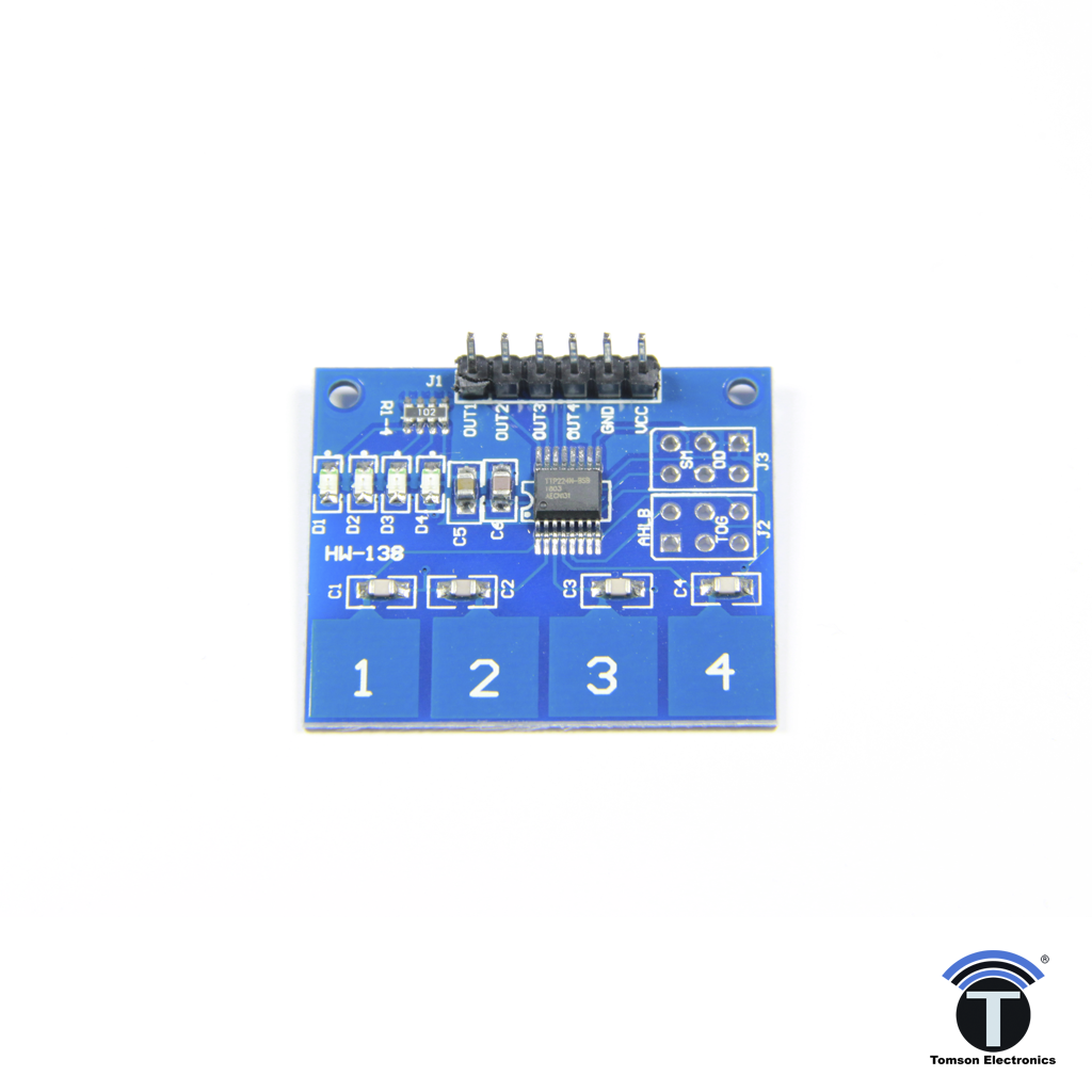 TTP224 4 Way Touch Sensor