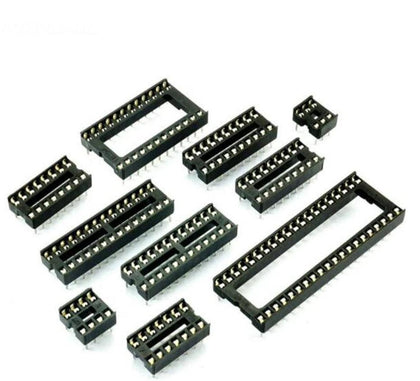 Wide Dip Socket IC Adapter Solder Type IC Base