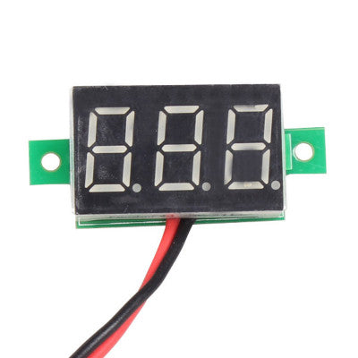 Mini Voltmeter 0.36 inch - 2 Wire Module - 4.5V to 30V