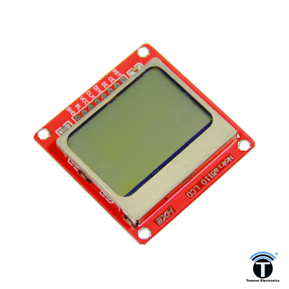 Nokia 5110 LCD Display Module for Arduino
