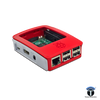 Raspberry Pi 3 B Case, Red, White