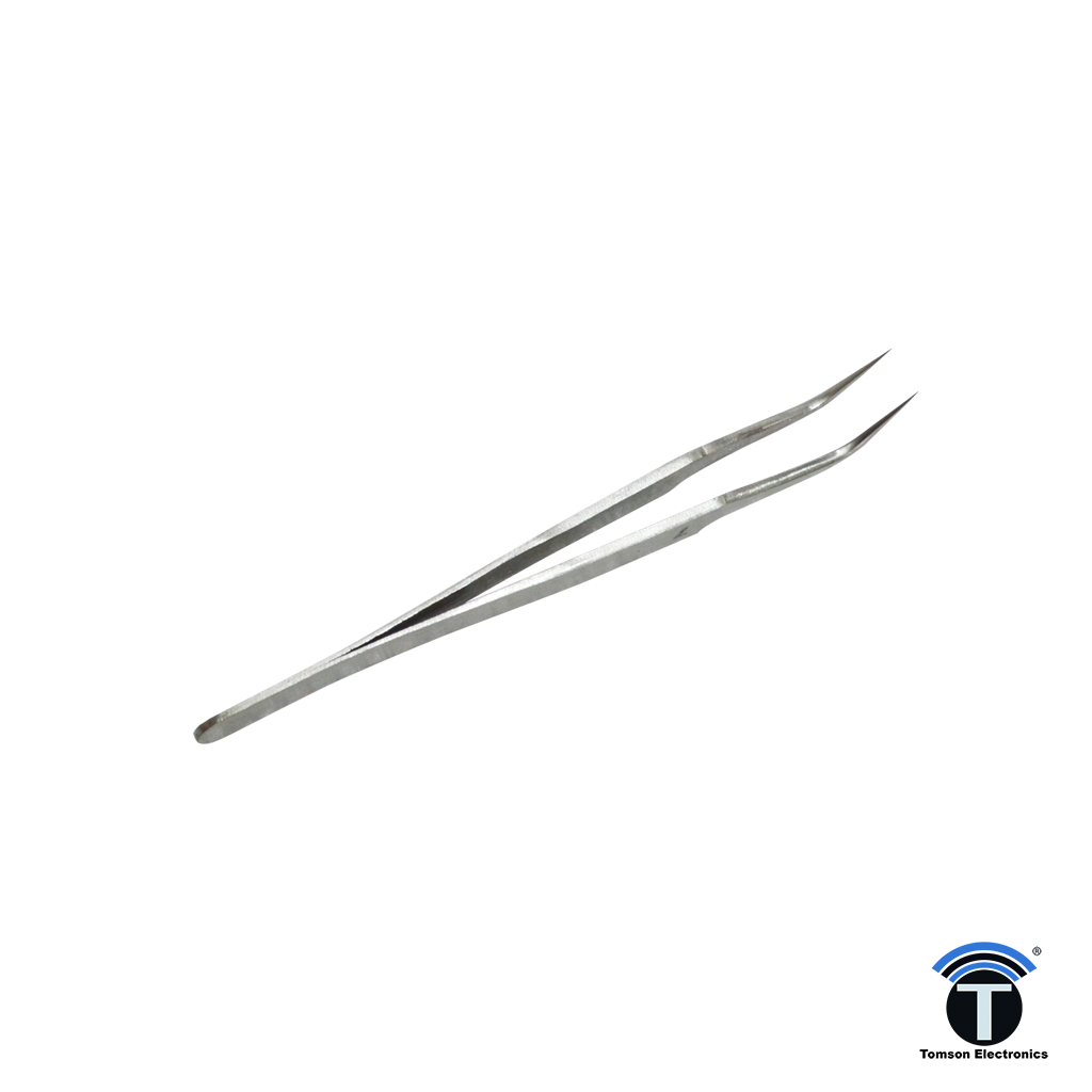 Stainless Steel Tweezer Bent