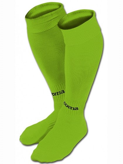Joma Fluo Green Yellow Classic II Football Socks
