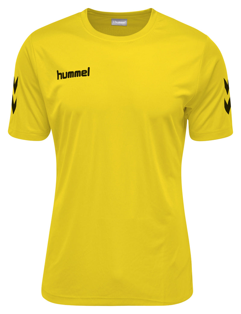 Hummel Core Hybrid Solo S/S - Sports Yellow