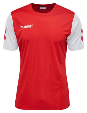 Hummel Core Hybrid Match S/S - True Red / White