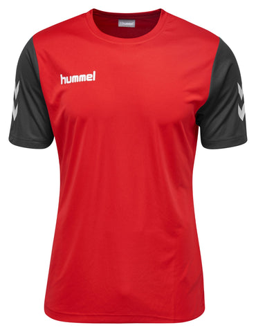 Hummel Core Hybrid Match S/S - True Red / Black