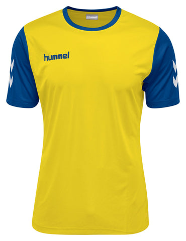 Hummel Core Hybrid Match S/S - Sports Yellow / Blue