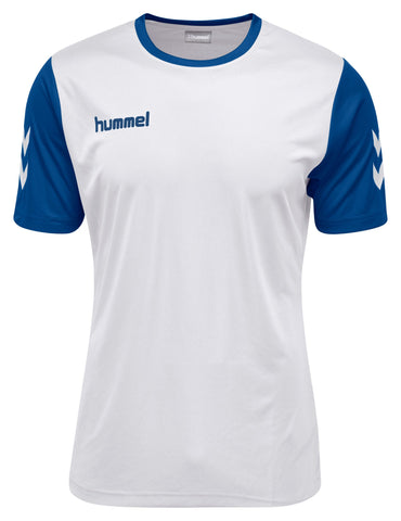 Hummel Core Hybrid Match S/S - White / True Blue