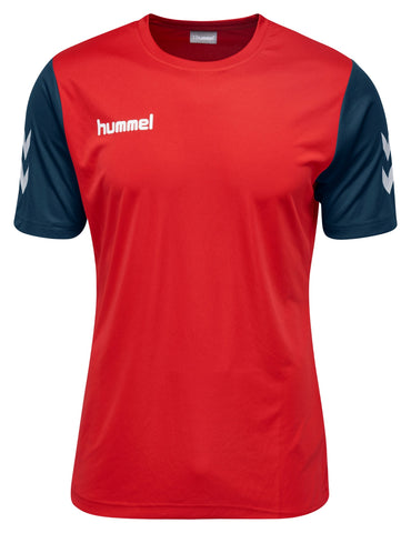 Hummel Core Hybrid Match S/S - True Red / Marine