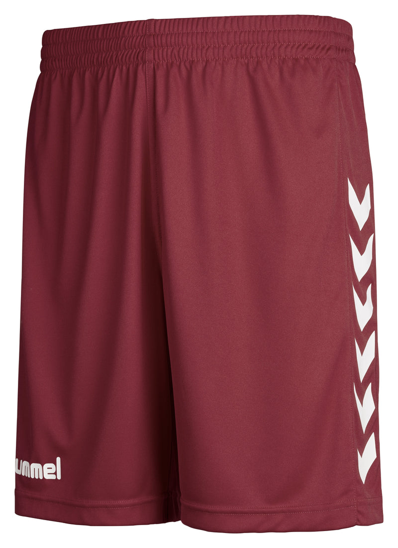 Hummel Core Poly Shorts - Maroon