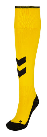 Hummel Fundamental Socks - Sports Yellow / Black