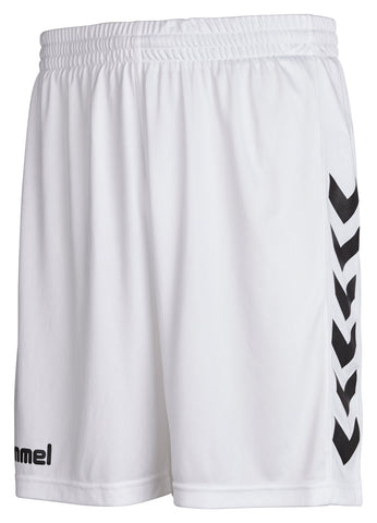 Hummel Core Poly Shorts - White