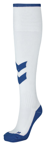 Hummel Fundamental Socks - White / True Blue