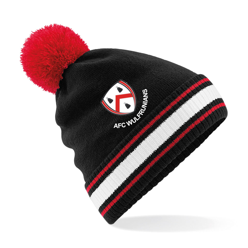 AFC Wulfs - Black Bobble Hat