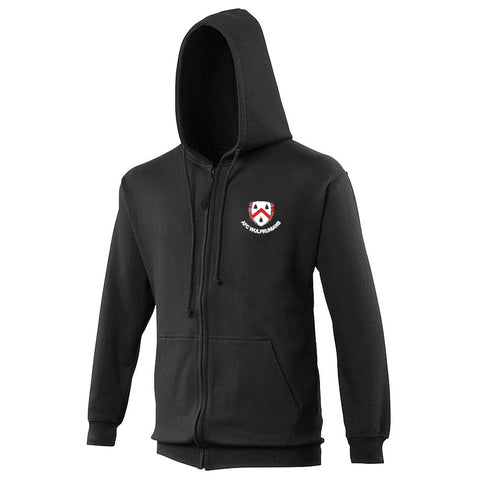 AFC Wulfs - Black Supporters Zipped Hoodie
