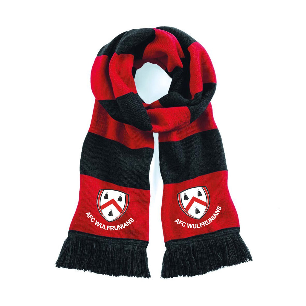 AFC Wulfs - Red/Black Supporters Scarf