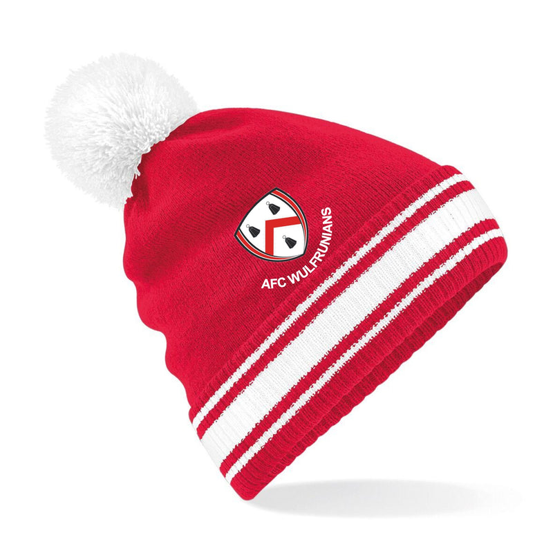 AFC Wulfs - Red Bobble Hat