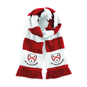 AFC Wulfs - Red/White Supporters Scarf