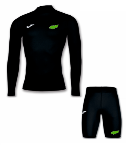 Kewford Eagles Away/Training Base Layer Set - Black