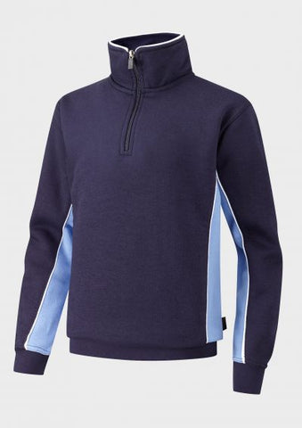Sutton P.E. Zipped Sweatshirt