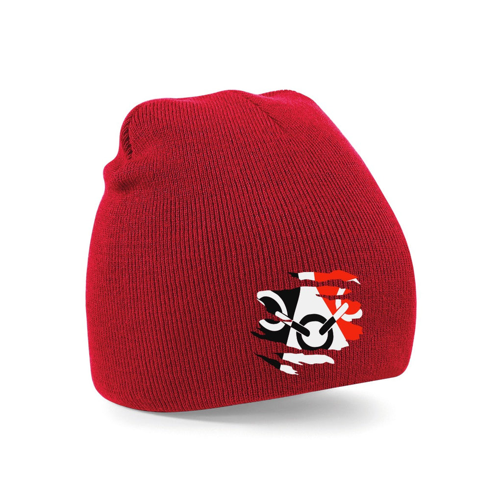 Black Country Beanie - Red