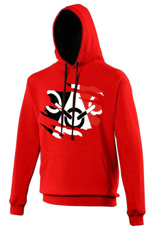 Black Country Hoodie - Red