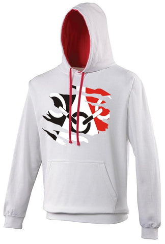 Black Country Hoodie - White