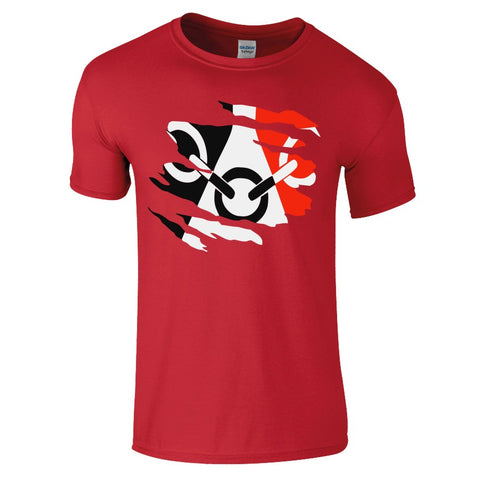 Black Country T-Shirt - Red