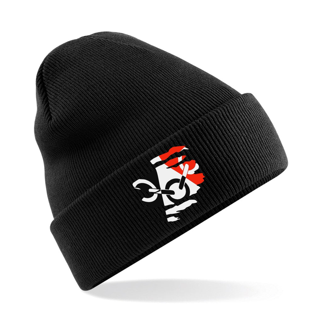 Black Country Wolly Hat - Black