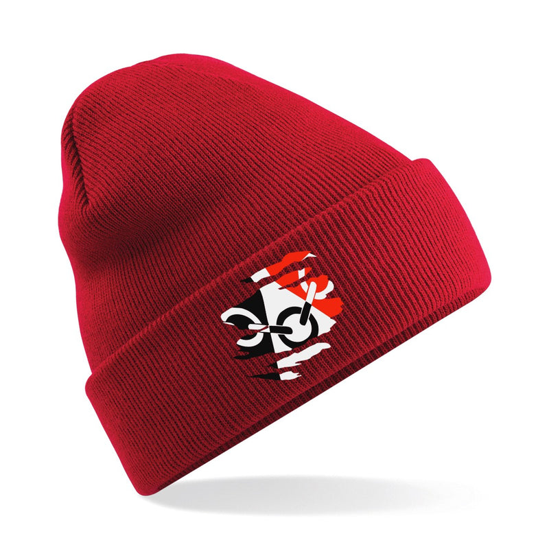 Black Country Wolly Hat - Red
