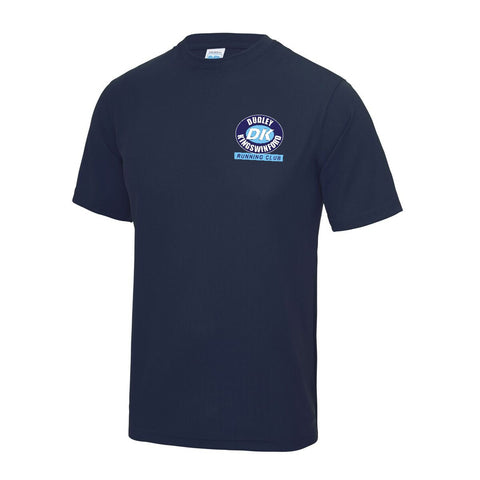 Mens DKRC Navy T-Shirt