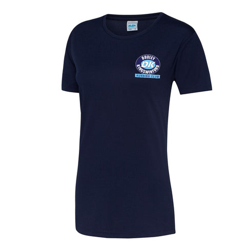 Ladies DKRC Navy T-Shirt [YA]