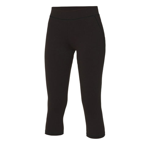 Ladies DKRC Black Capri Leggings