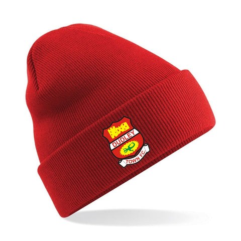 Dudley Town Woolly Hat (Red)