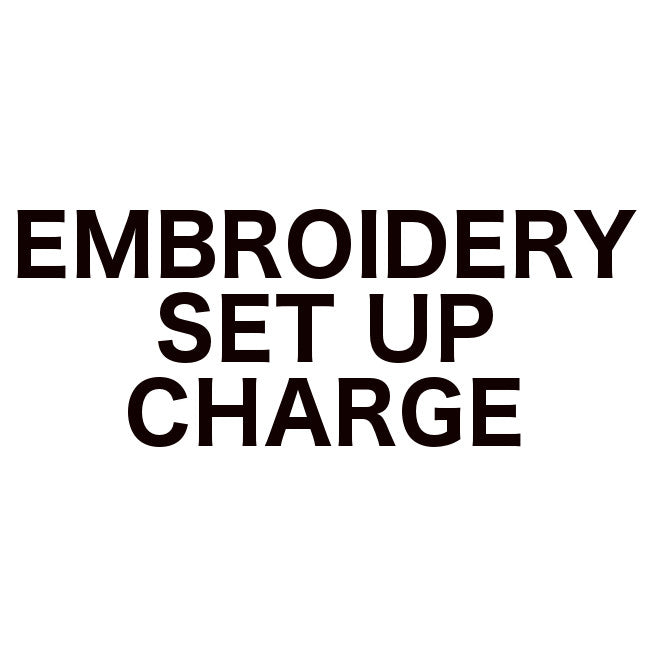 Embroidery Set Up Charge
