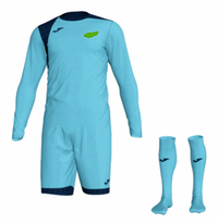 Kewford Eagles Goal Keeper Kit Pack - Turquoise