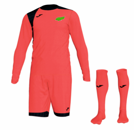Kewford Eagles Goal Keeper Kit Pack - Coral