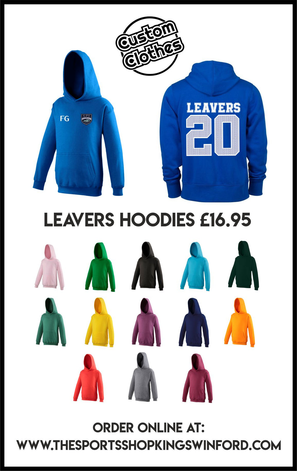 Greenfield Primary Leavers Hoodie (2020)