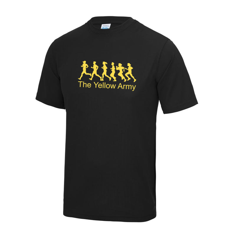 Mens Yellow Army T-Shirt [YA]