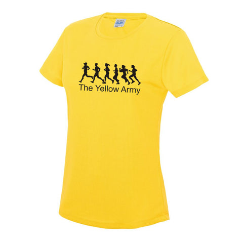Ladies Yellow Army T-Shirt [YA]