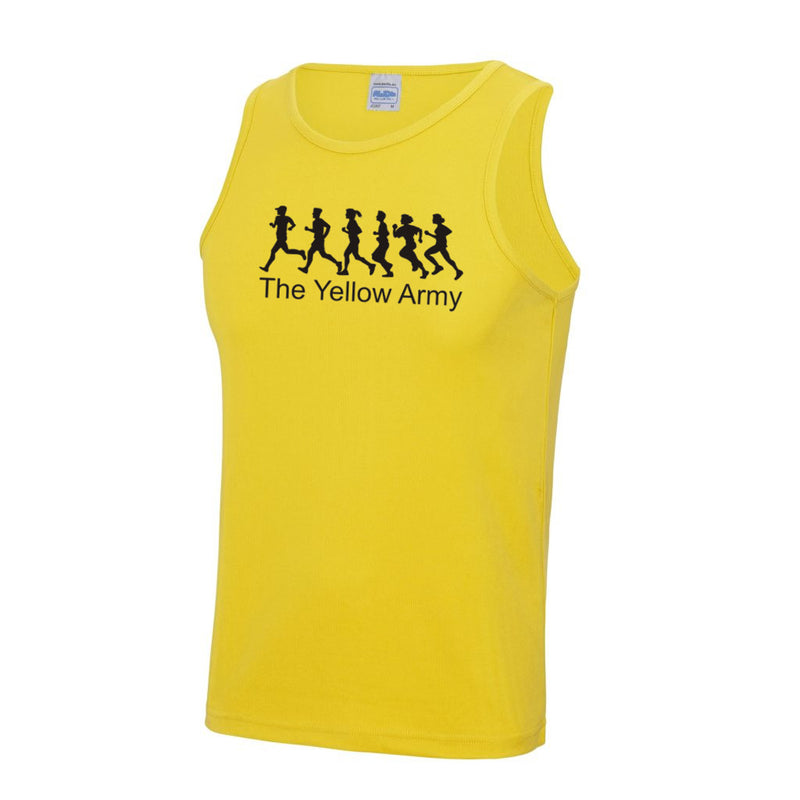 Mens Yellow Army Vest [YA]