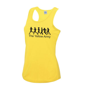 Ladies Yellow Army Vest [YA]