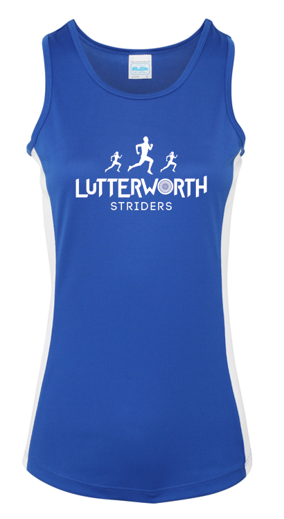 Ladies Lutterworth Striders Running Vest