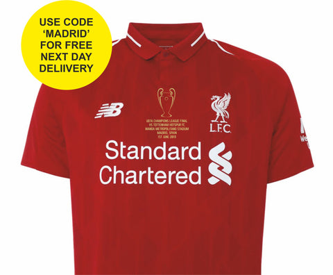 Champions League Final Motif Transfer - Liverpool