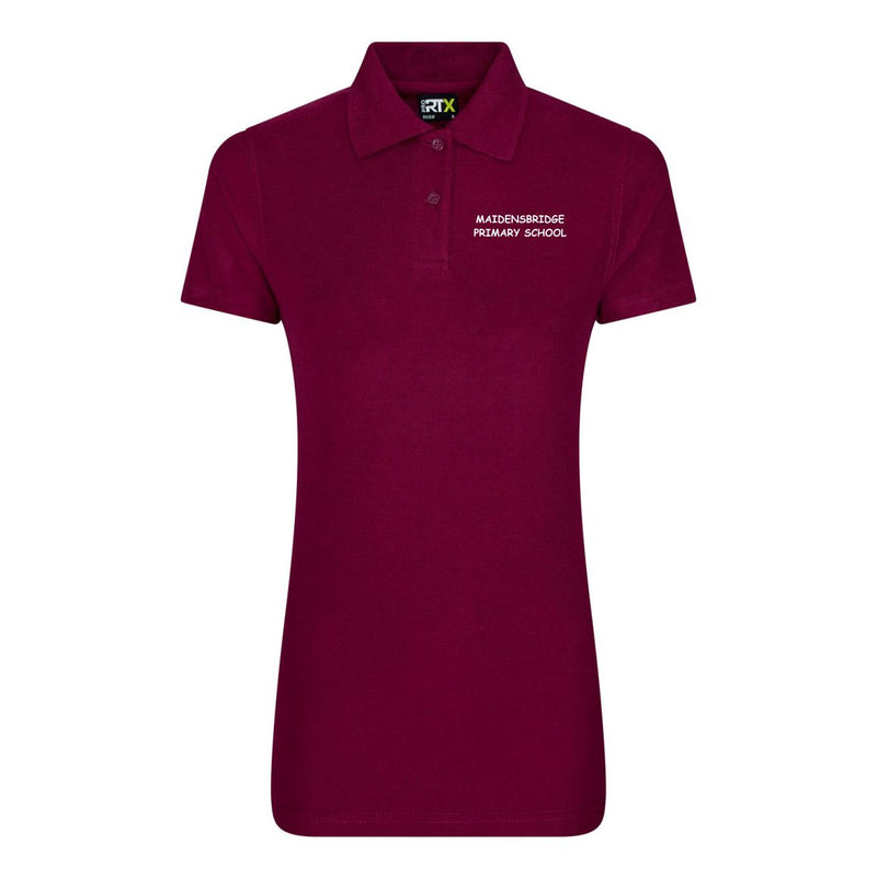 Maidensbridge Staff Ladies Fit Polo