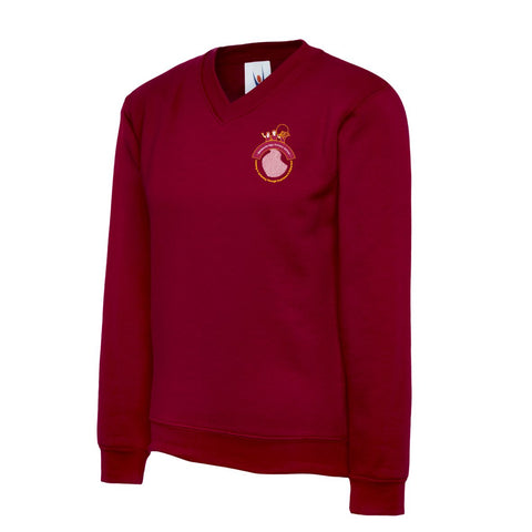 Maidensbridge School V-Neck Sweater