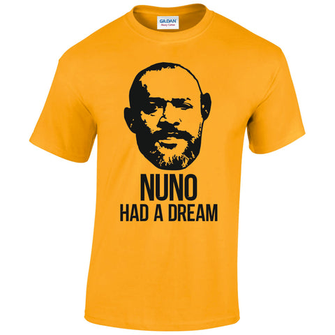Nuno Had A Dream T-Shirt - Gold