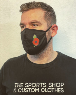 Poppy Appeal Face Mask 2020